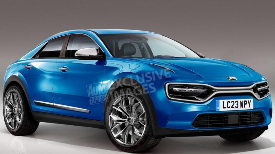 Появился первый снимок салона нового электромобиля от Kia