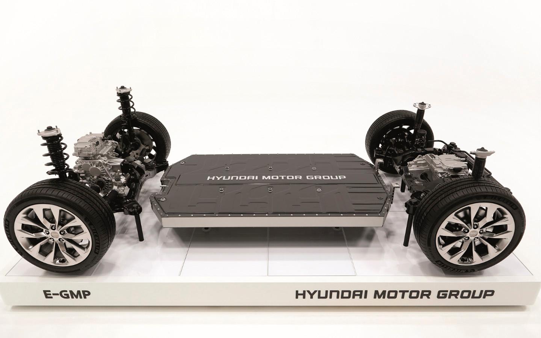Hyundai Motor показал собственную платформу для производства электрокаров