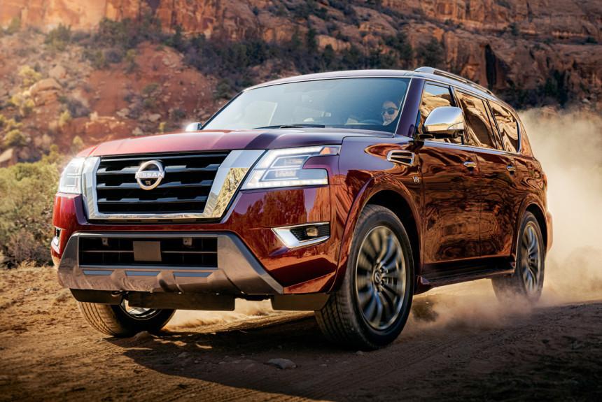 Nissan представил обновленный внедорожник Nissan Armada