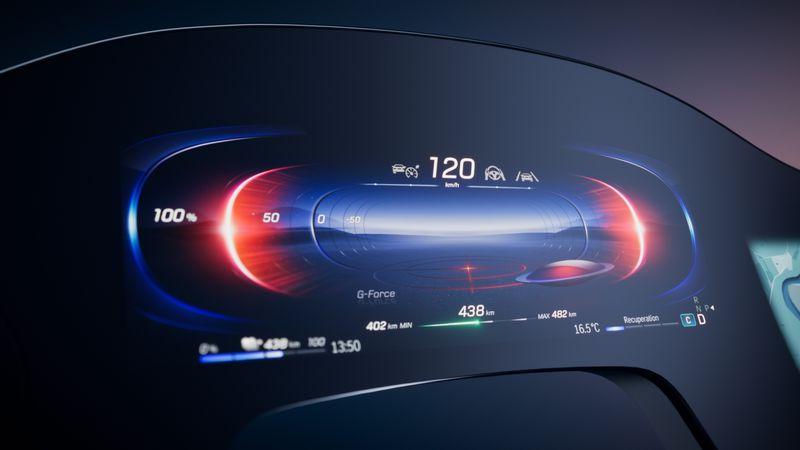 Mercedes представил новый 56-дюймовый «гиперэкран» для электрокаров