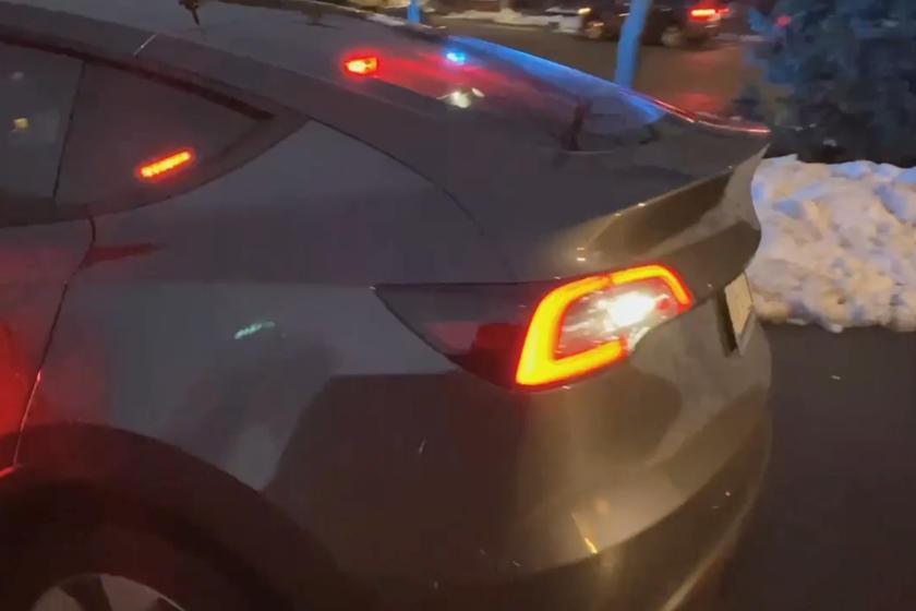 В Нью-Йорке показали первую полицейскую машину Tesla Model Y