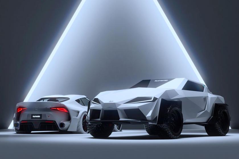 Toyota Supra превратилась в новый бэтмобиль