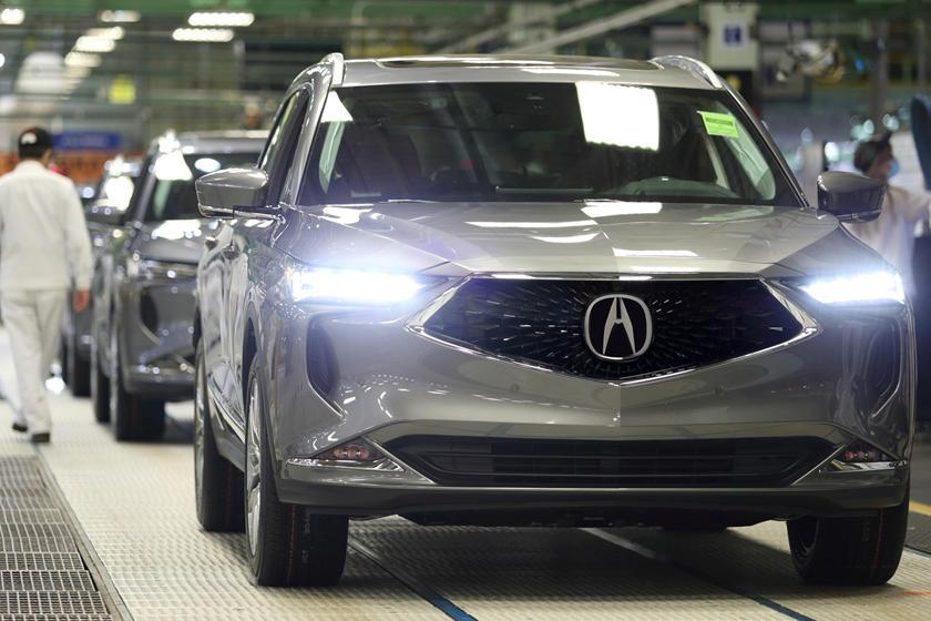 Acura начала производство Acura MDX 2022 года