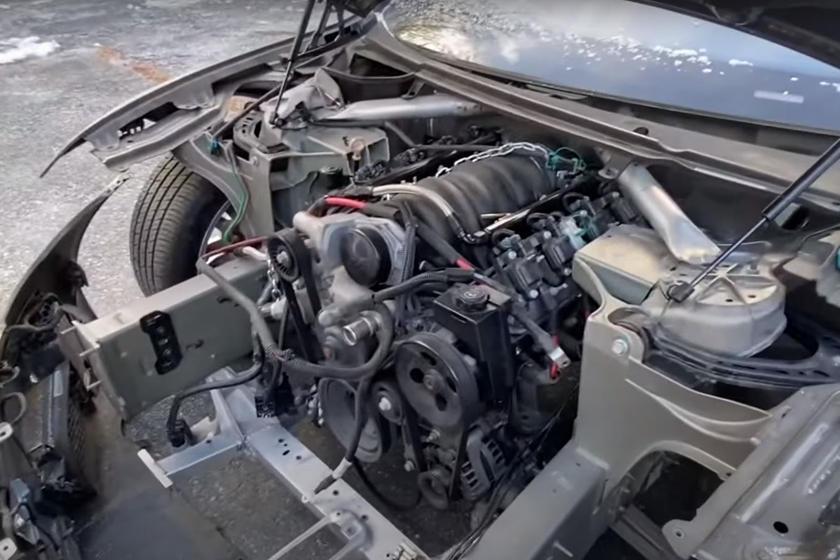 Tesla с двигателем V8 получает шестиступенчатую механическую коробку передач