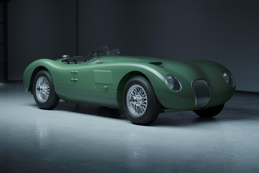 Jaguar Classic возвращает к жизни C-Type