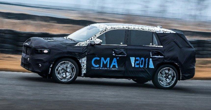 Раскрыта внешность нового кроссовера Geely на платформе Volvo