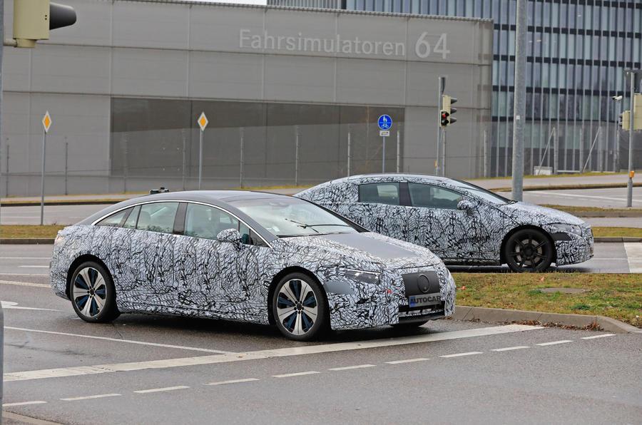 Флагманский электроседан Mercedes-Benz EQS вывели на испытания