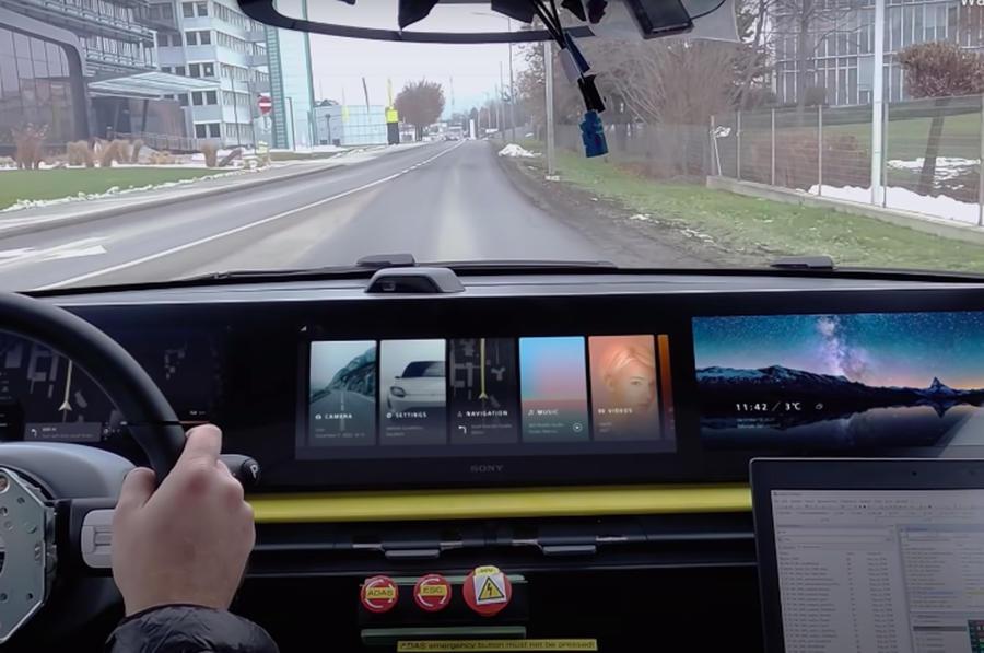 Концепт-кар Sony Vision-S начал испытания на дорогах общего пользования