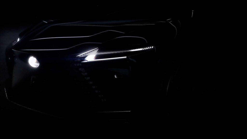 Lexus показал новый смелый концепт-кар на тизерах
