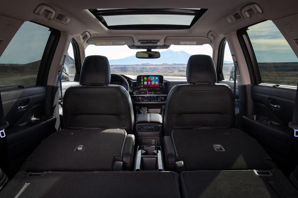 Официально представлен новый внедорожник Nissan Pathfinder 2022 года