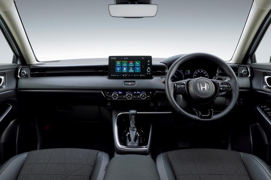 Honda представила гибридный кроссовер HR-V третьего поколения