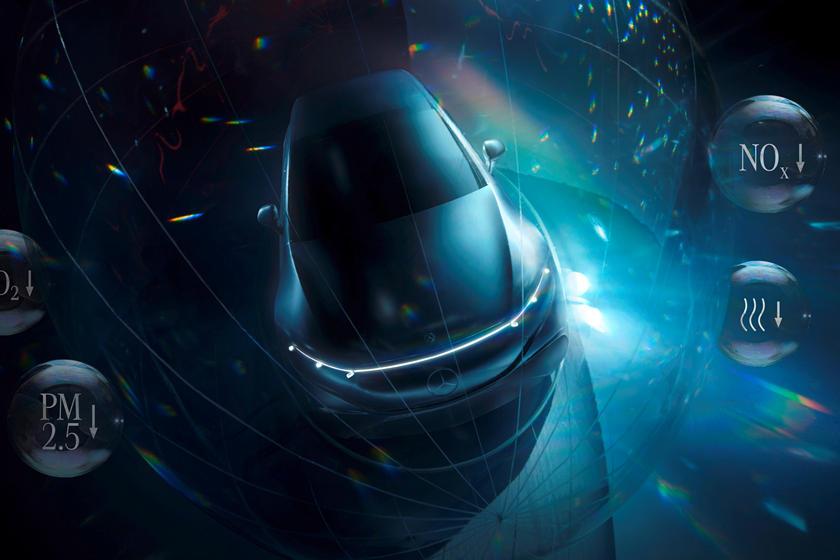 Новые торговые марки Mercedes указывают на загадочные электромобили