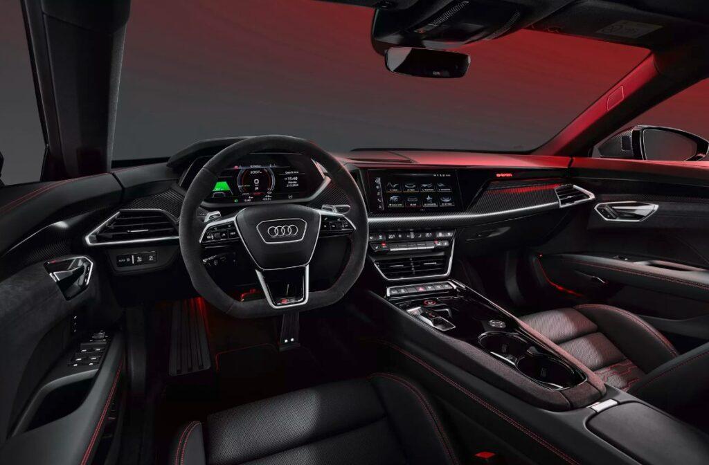 Audi анонсировала E-Tron GT с двигателем от Porsche
