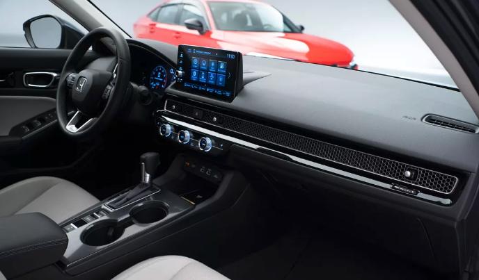 Honda Civic 2022 года дебютирует с потрясающим новым интерьером