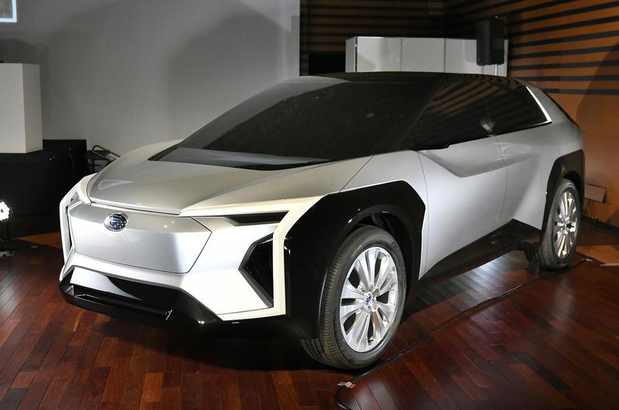Subaru Solterra выйдет в 2022 году как первый электромобиль компании