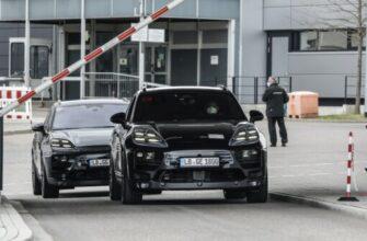 Электрический кроссовер Porsche Macan EV поступит в продажу в 2023 году