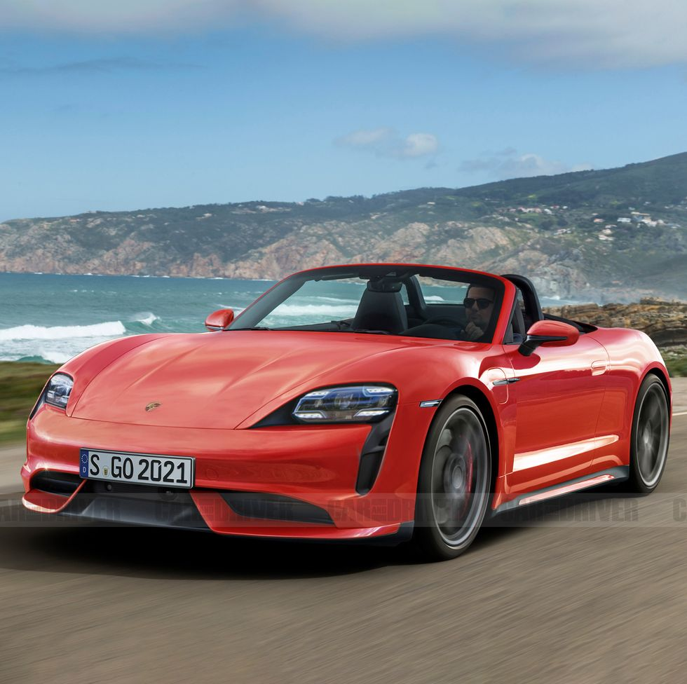 Концепт Porsche Boxster EV может появиться в ближайшее время