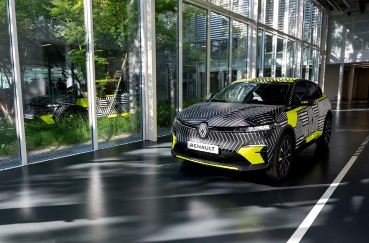 Renault: от Megane eVision до совершенно нового Megane E-Tech Electric