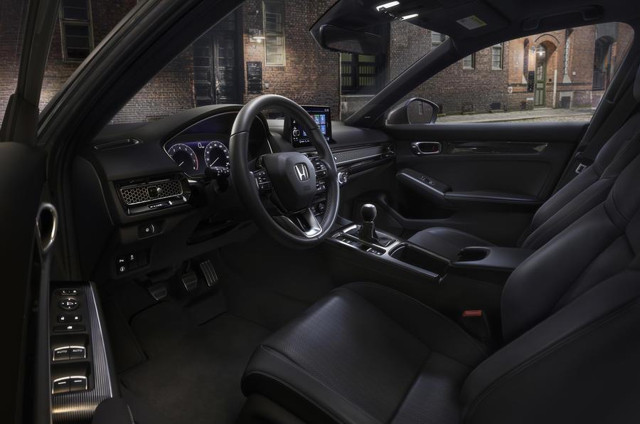 Новый хэтчбек Honda Civic 2022 года станет только гибридом