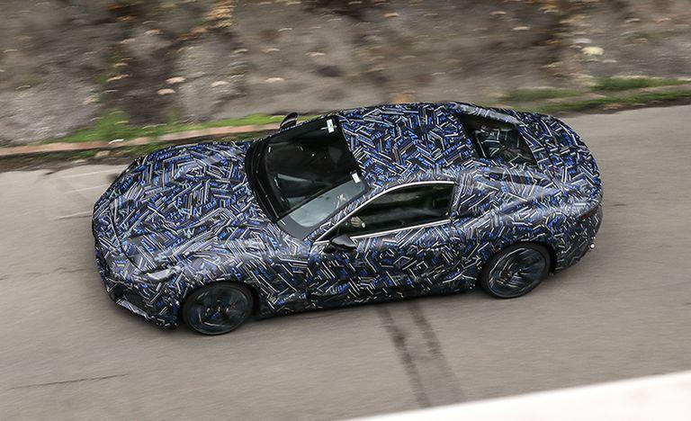 Следующий Maserati GranTurismo Coupe показан в виде прототипа