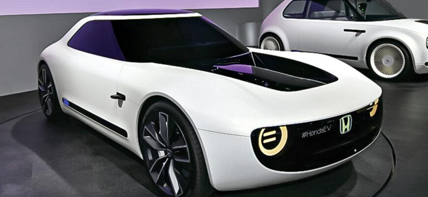 Двухдверный спортивный электромобиль Honda находится на разработке