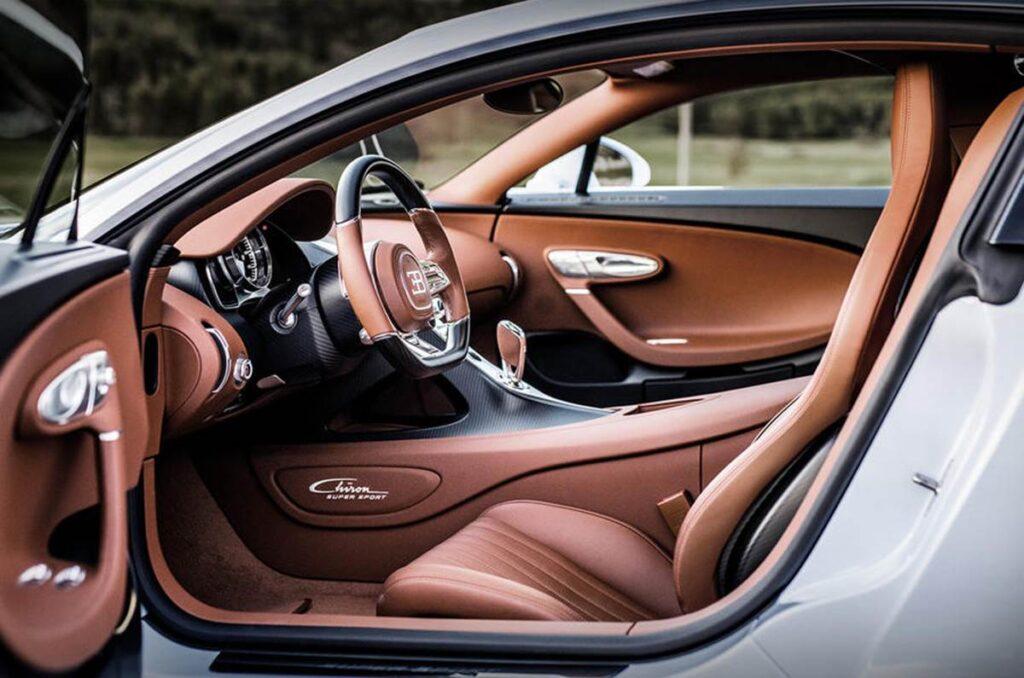 Представлен новый Bugatti Chiron Super Sport