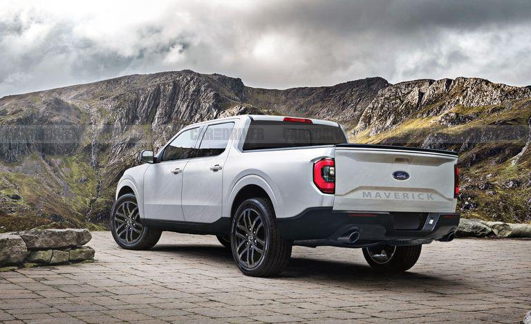 Гибридный компактный пикап Ford Maverick 2022 года дебютирует на следующей неделе