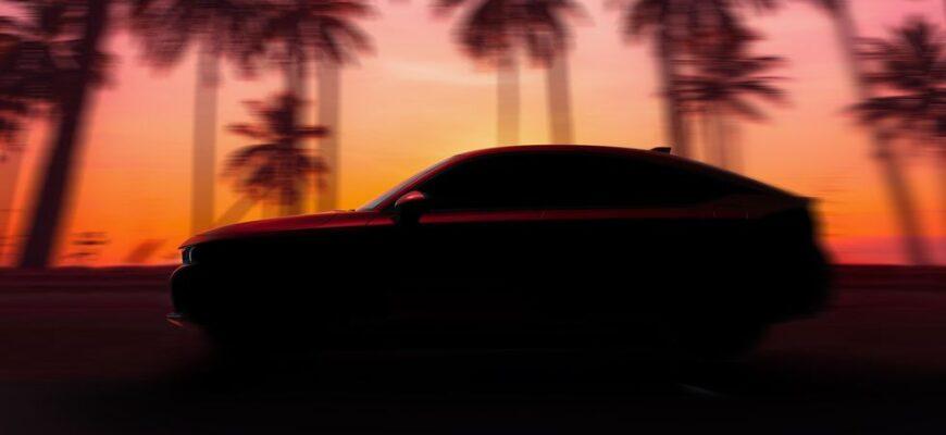 Новый хэтчбек Honda Civic 2022 года дебютирует 23 июня