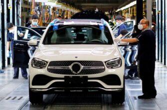 Daimler нацелен на увеличение мощности заводов Mercedes-Benz на 45%