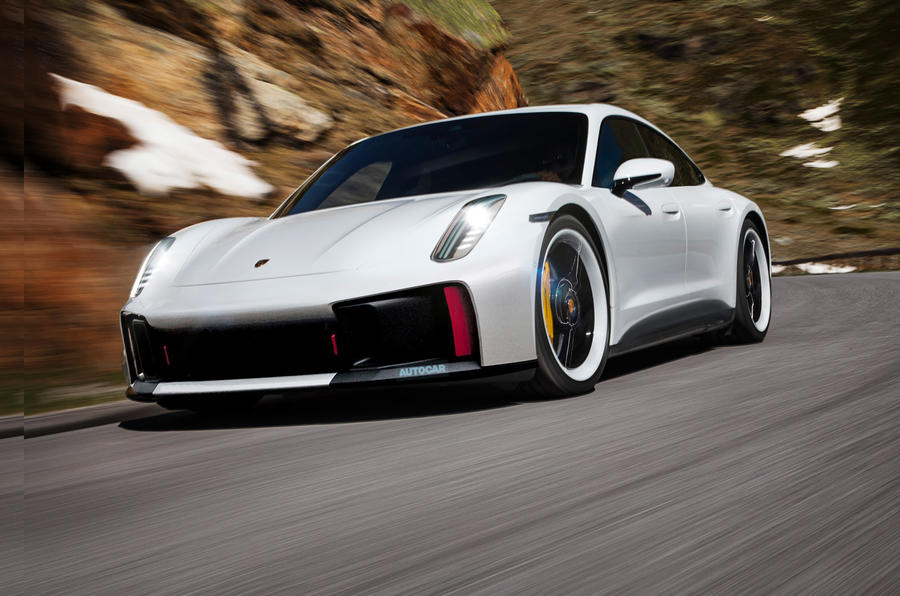 Porsche расширит модельный ряд новым седаном, конкурирующим с BMW i4