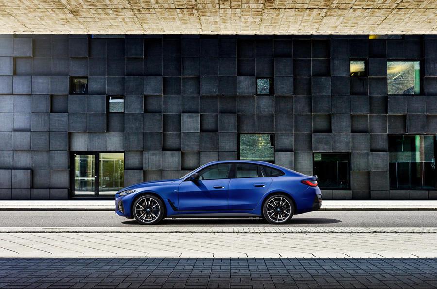 BMW представила свой новый электрический седан BMW i4
