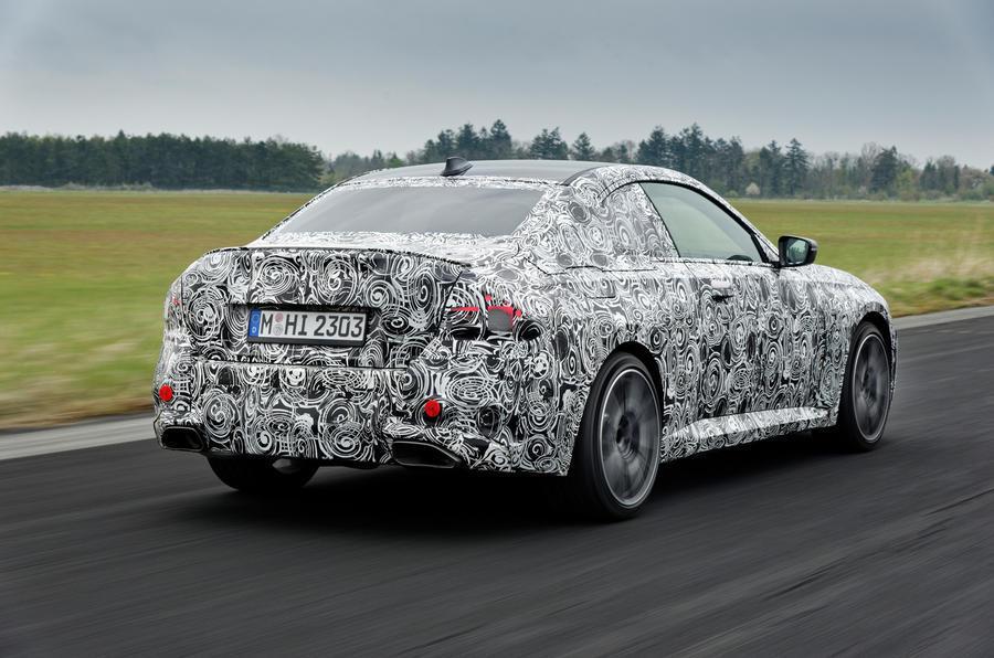 Новый BMW 2 серии купе 2022 года дебютирует в Гудвуде