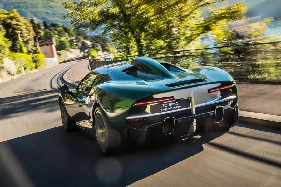 Touring Superleggera отметила 95-летие проектом Arese RH95 с 710-сильным Ferrari V8