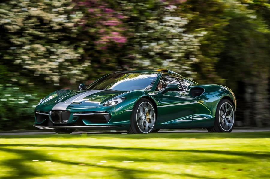 Новый Touring Superleggera Arese RH95 оснащен 710-сильным Ferrari V8