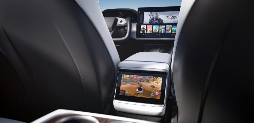 Tesla использует новый графический процессор AMD RDNA 2 в новых моделях S и X, как на Playstation 5