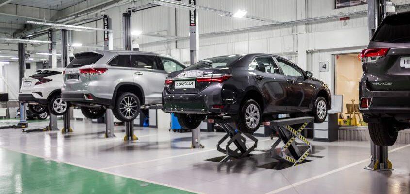 Toyota запустила революционную 10-летнюю гарантию