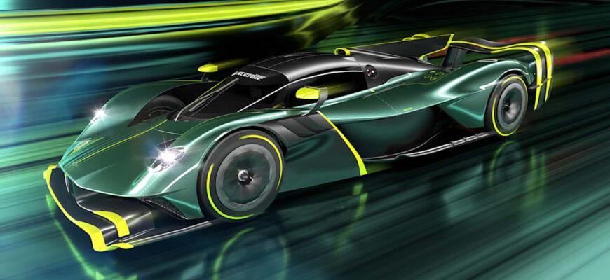 Представлен серийный автомобиль Aston Martin Valkyrie AMR Pro