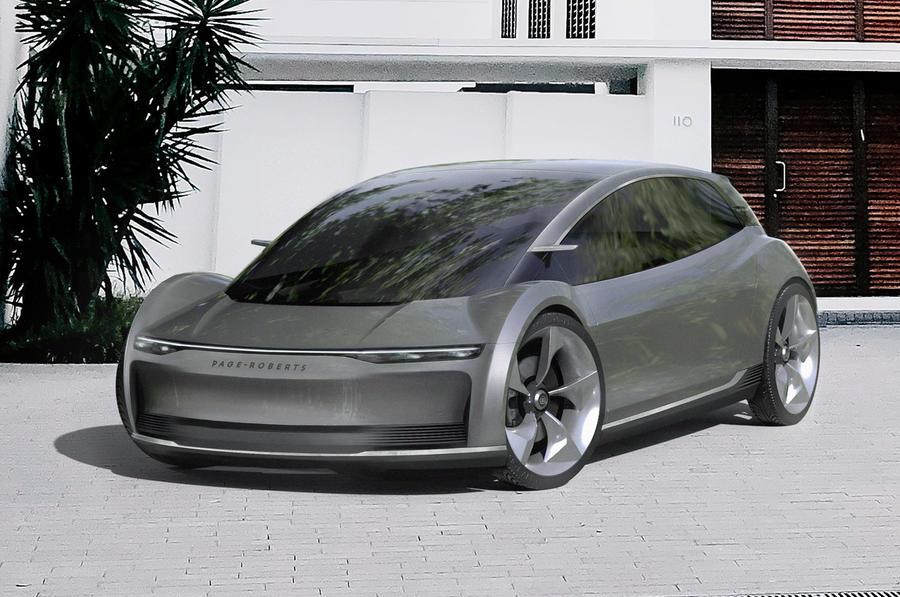 Уникальный дизайн электромобиля британской фирмы может увеличить дальность хода на 30%
