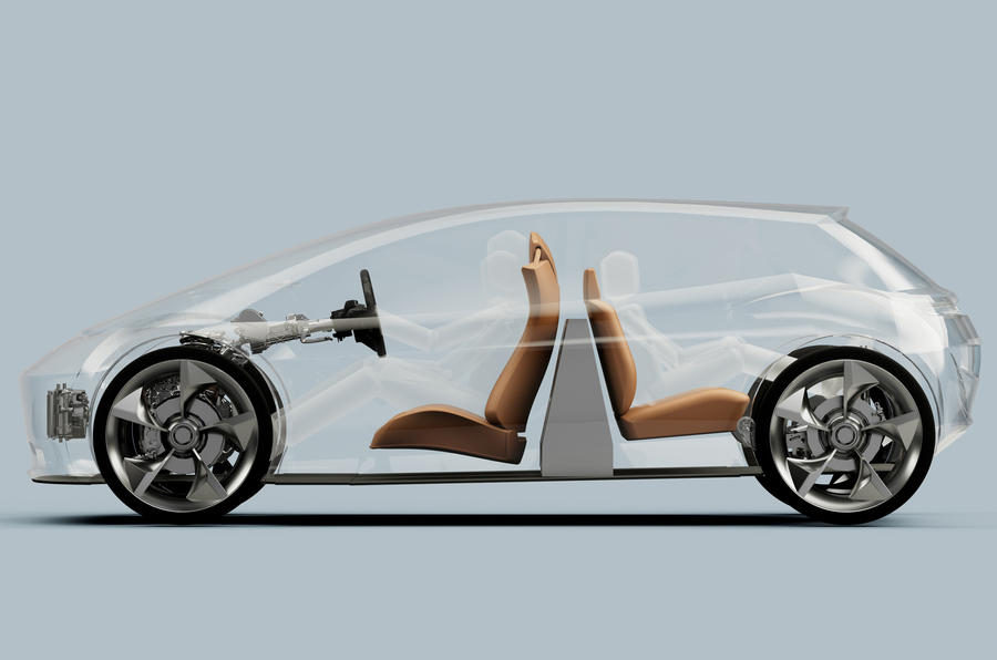Британский стартап Page-Roberts разместил батарею в салоне электрокара