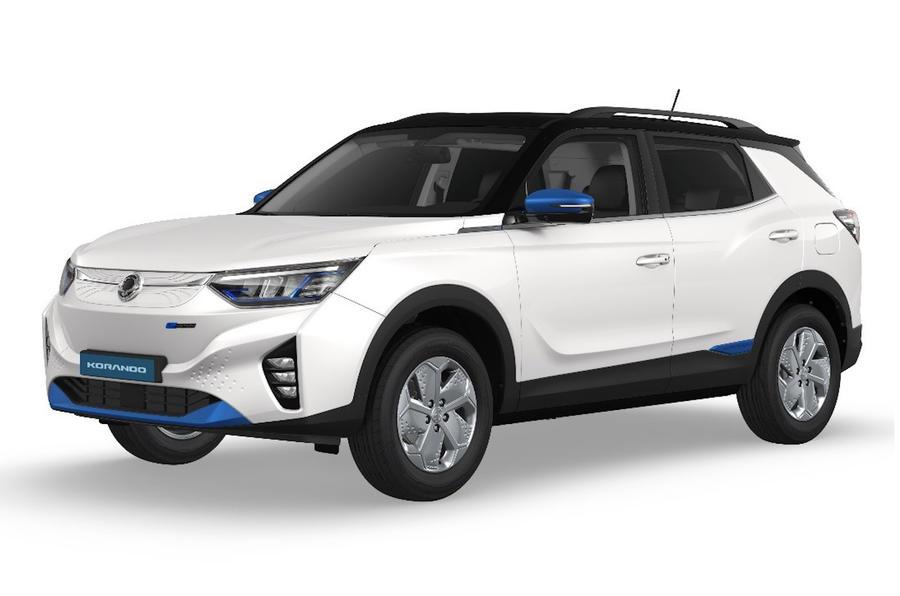 Новый Ssangyong Korando EV 2021 года будет запущен в августе