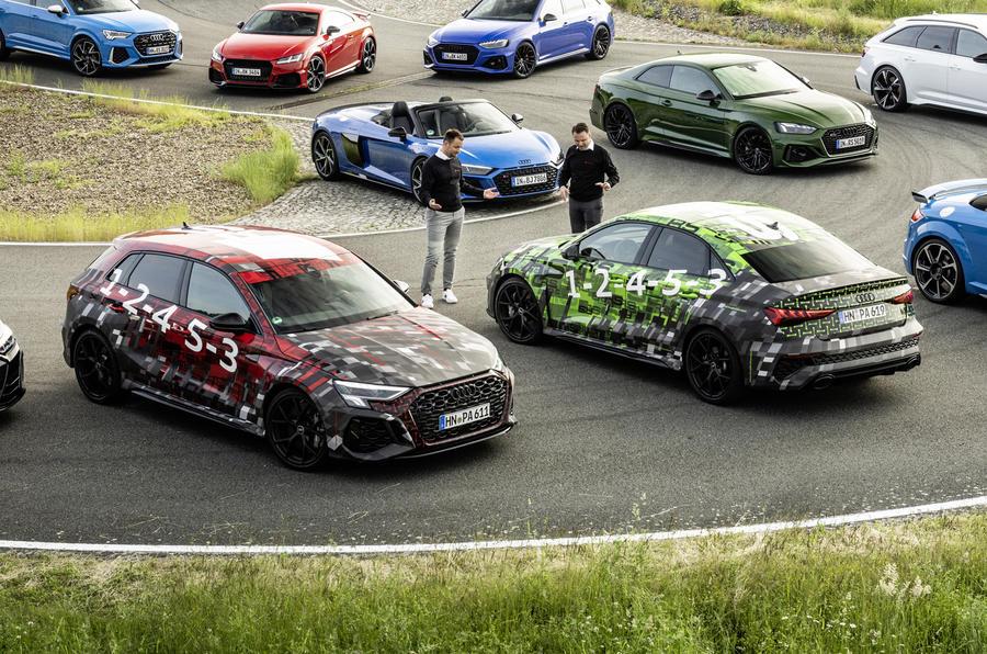 Новый Audi RS3 2022 года: официально анонсирован мега-хэтчбек мощностью 394 л.с.
