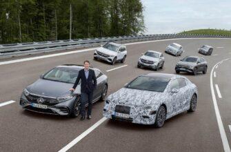 Mercedes-Benz перейдет на электричество к 2030 году