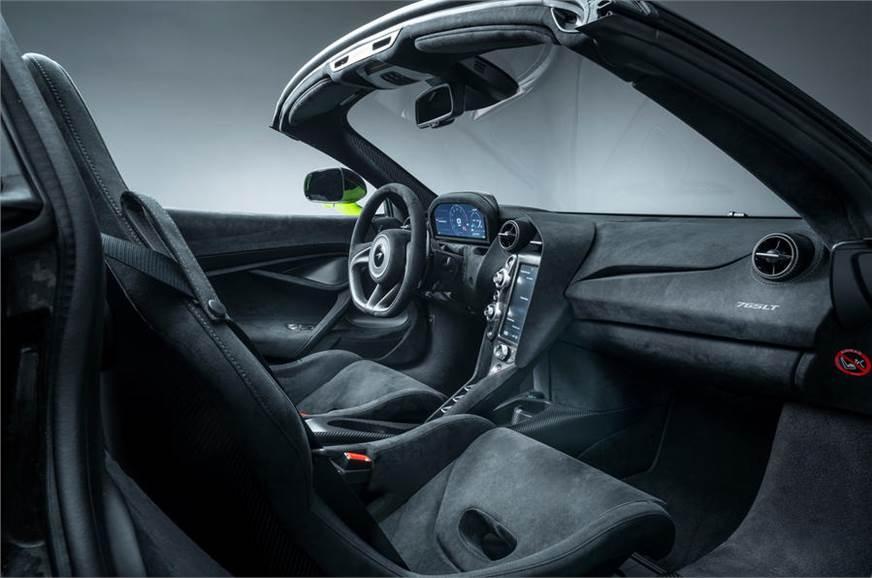 Представлен новый McLaren 765LT Spider: новые изображения