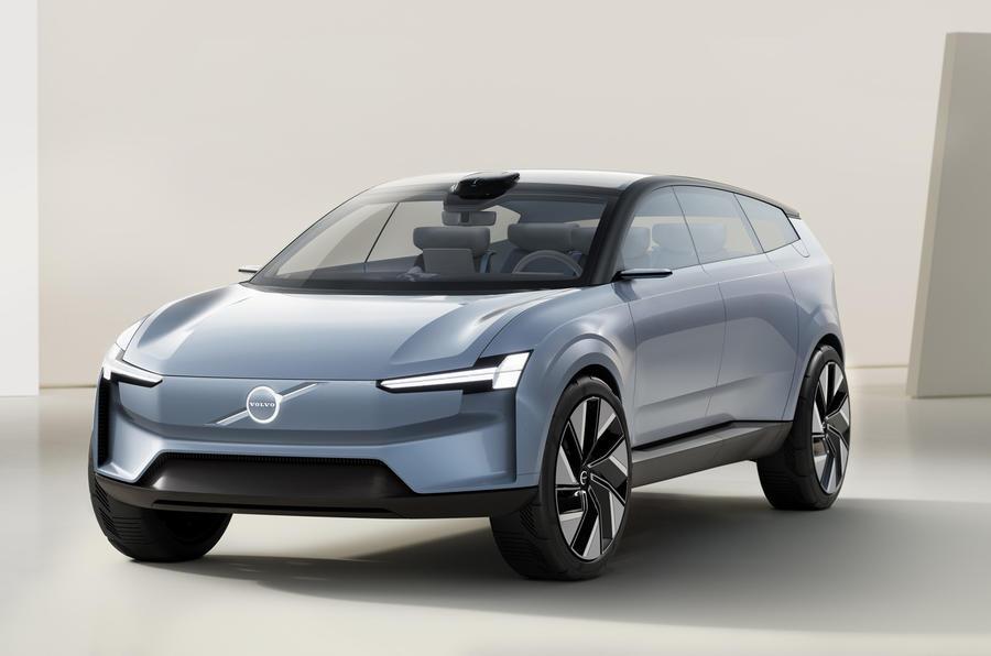 Новый концепт Volvo Concept Recharge представляет будущий флагманский внедорожник