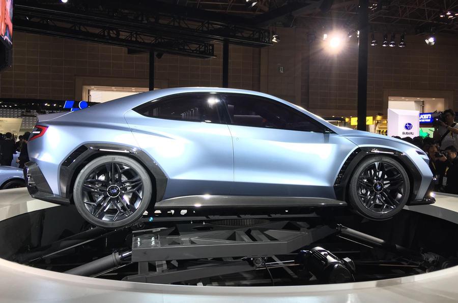 Новый Subaru WRX 2022 года анонсирован в преддверии выхода в этом году