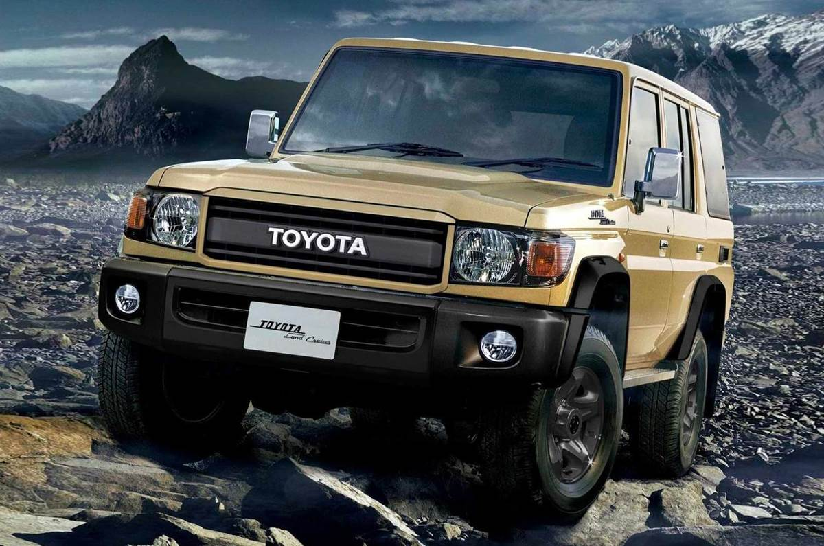 Toyota Land Cruiser 70 получит юбилейное издание в честь 70-летия