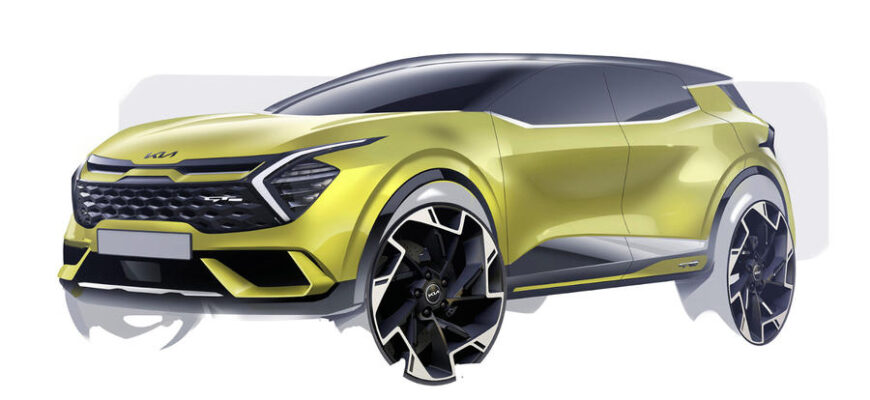 Новый Kia Sportage 2021 года: внедорожник европейского уровня выйдет на следующей неделе
