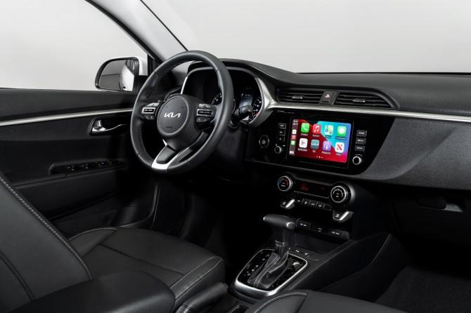 В России начались продажи модели Kia Rio 2022-го модельного года
